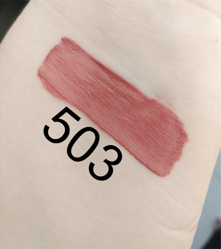 3ina liquid matte lipstick 503 swatch